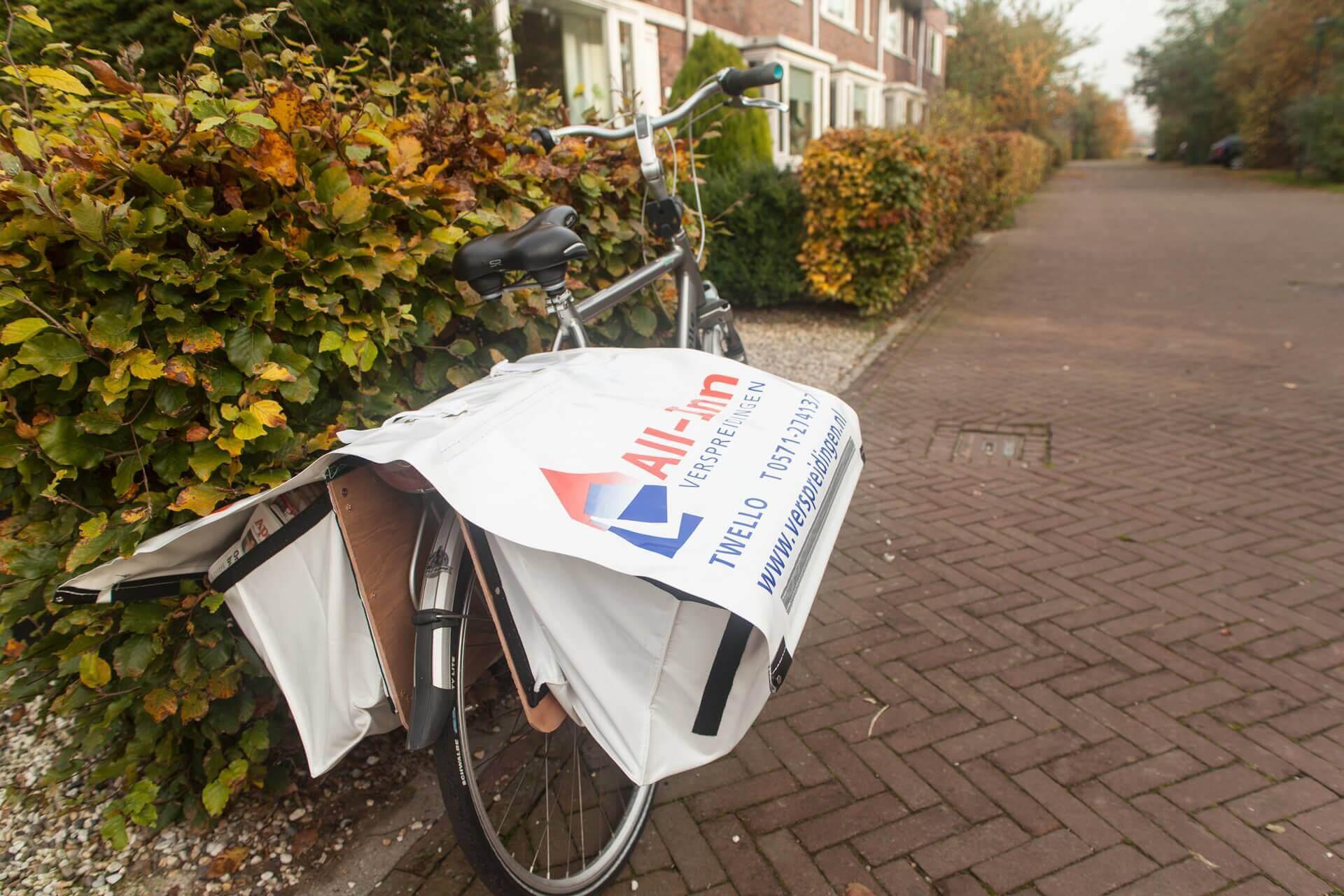 krantenwijk aanmelden bezorgers